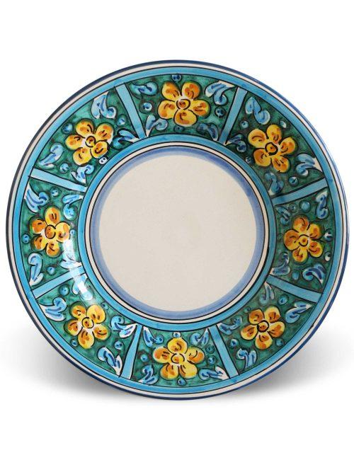 piatti ceramica siciliana piani decorati