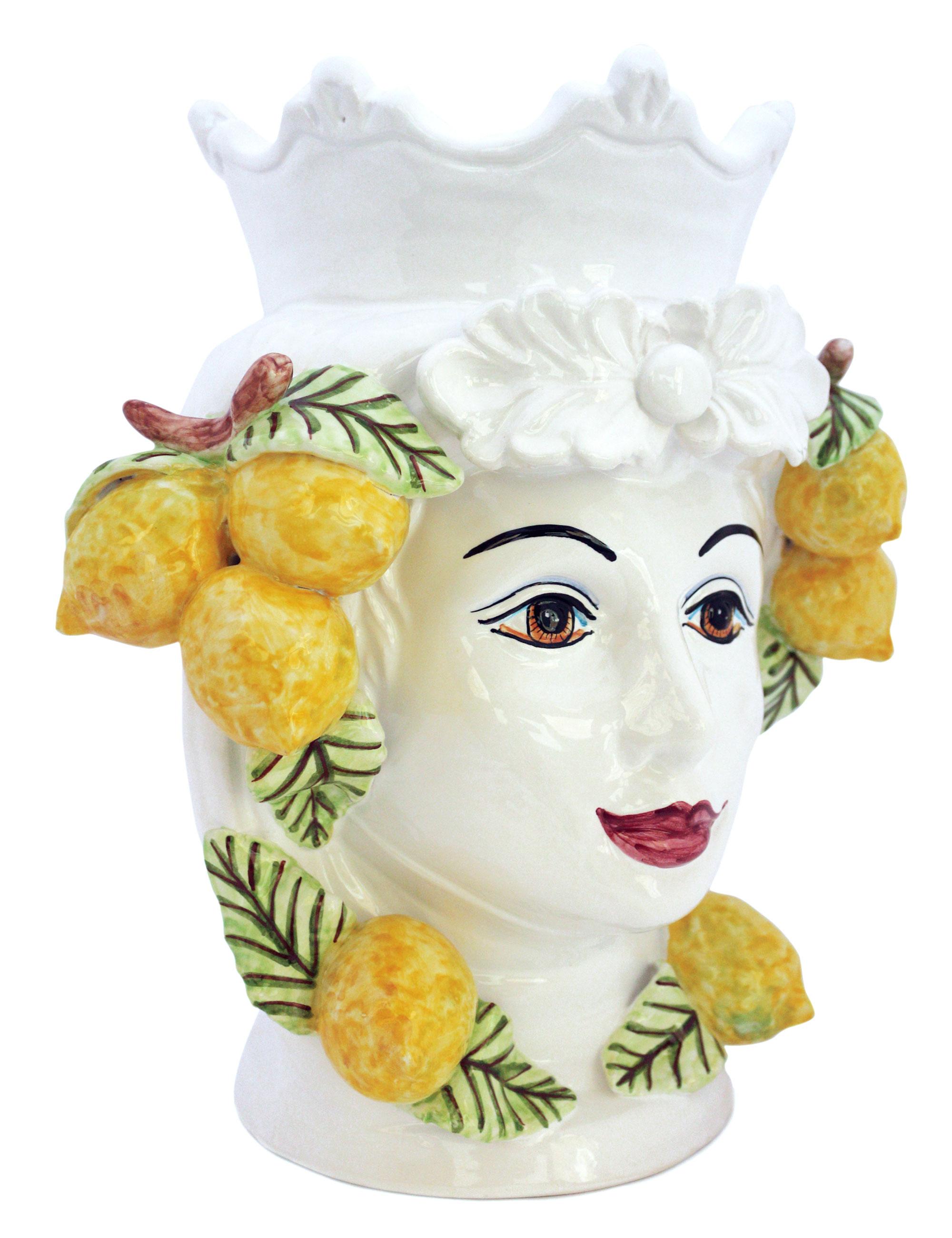 teste di moro ceramica