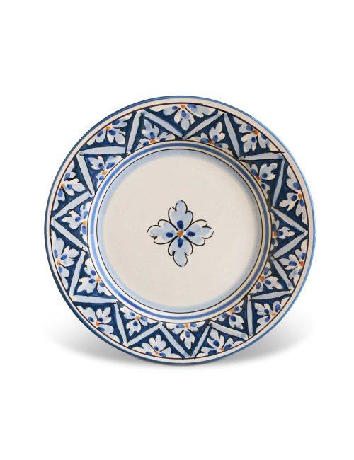 piatto dessert ceramica siciliana decorata Levanzo