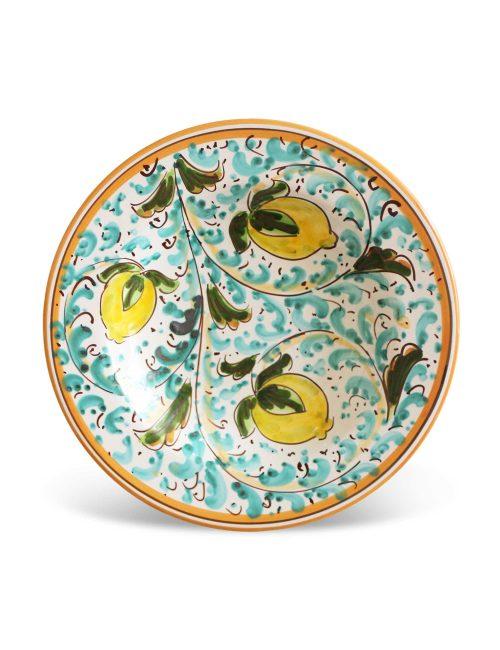 Piatto fondo ceramica Caltagirone MODICA