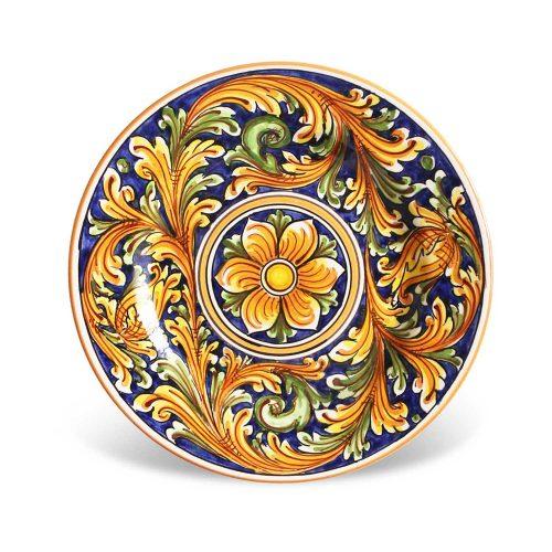 Piatti dessert ceramica Caltagirone