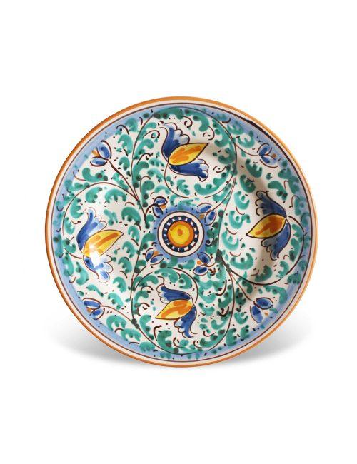 piatto dessert ceramica caltagirone salina