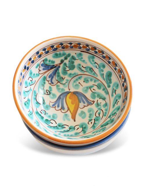 Coppa ceramica caltagirone Buscemi per frutta colazioni antipasto tapas