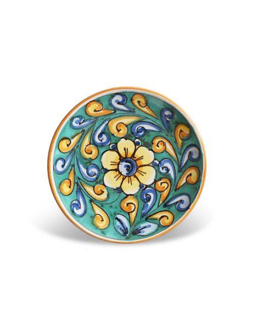 piattino ceramica decorata siciliana