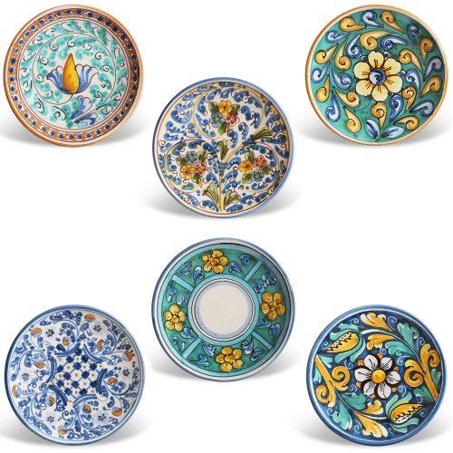Piattini ceramica Caltagirone