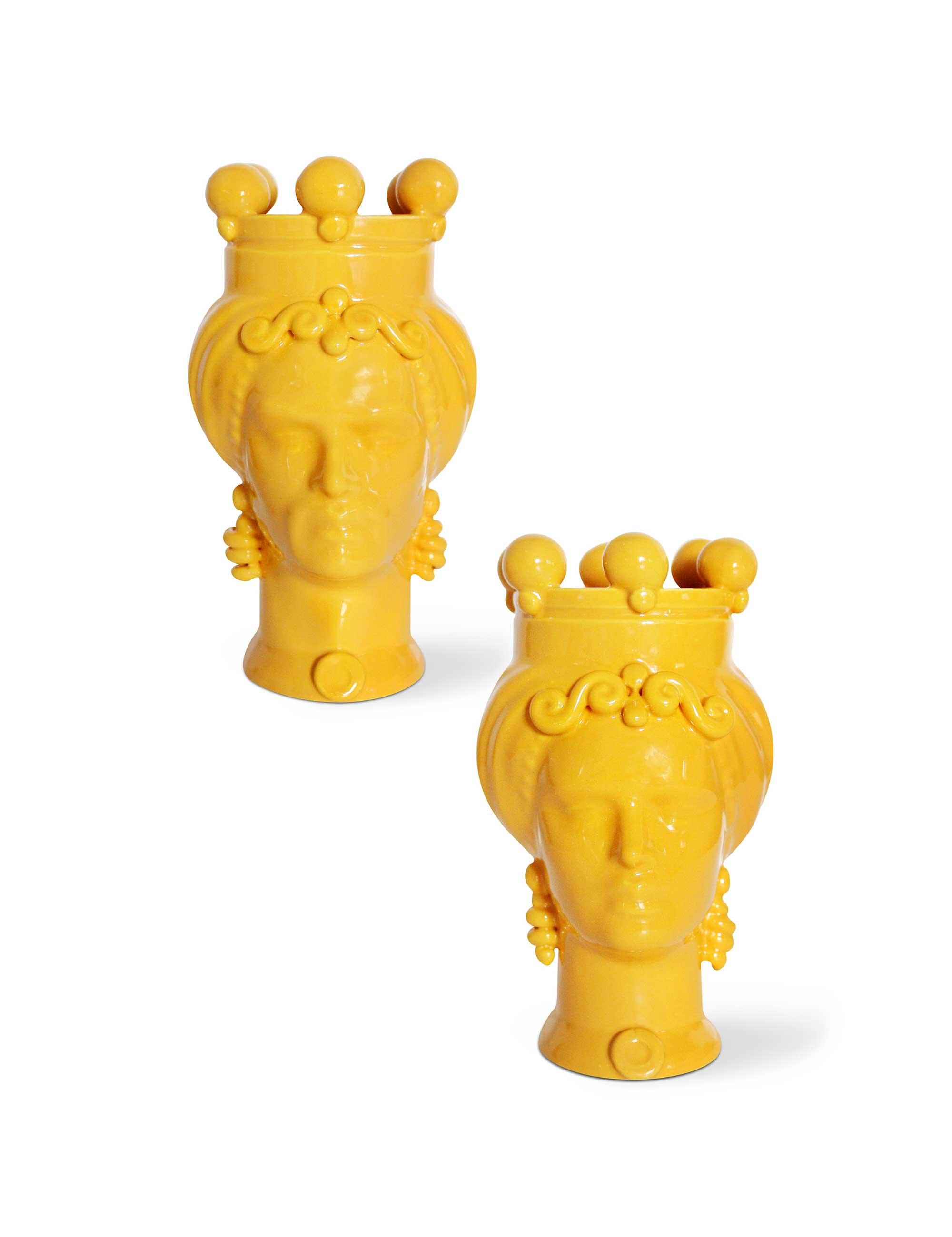 teste di moro dimensione piccola colore giallo picciotti innamorati