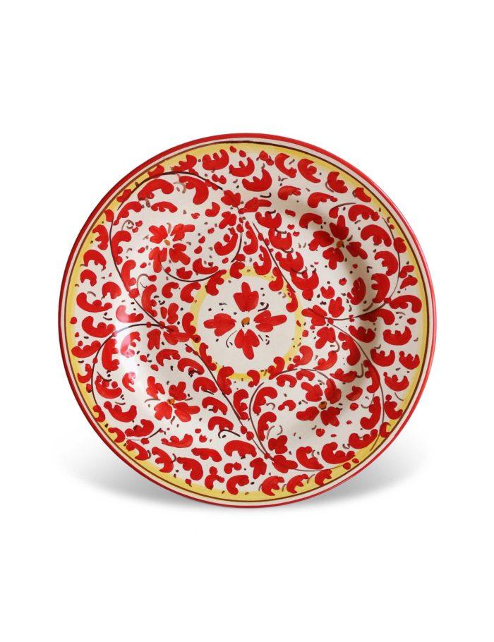 piatto dessert ceramica torregrotta