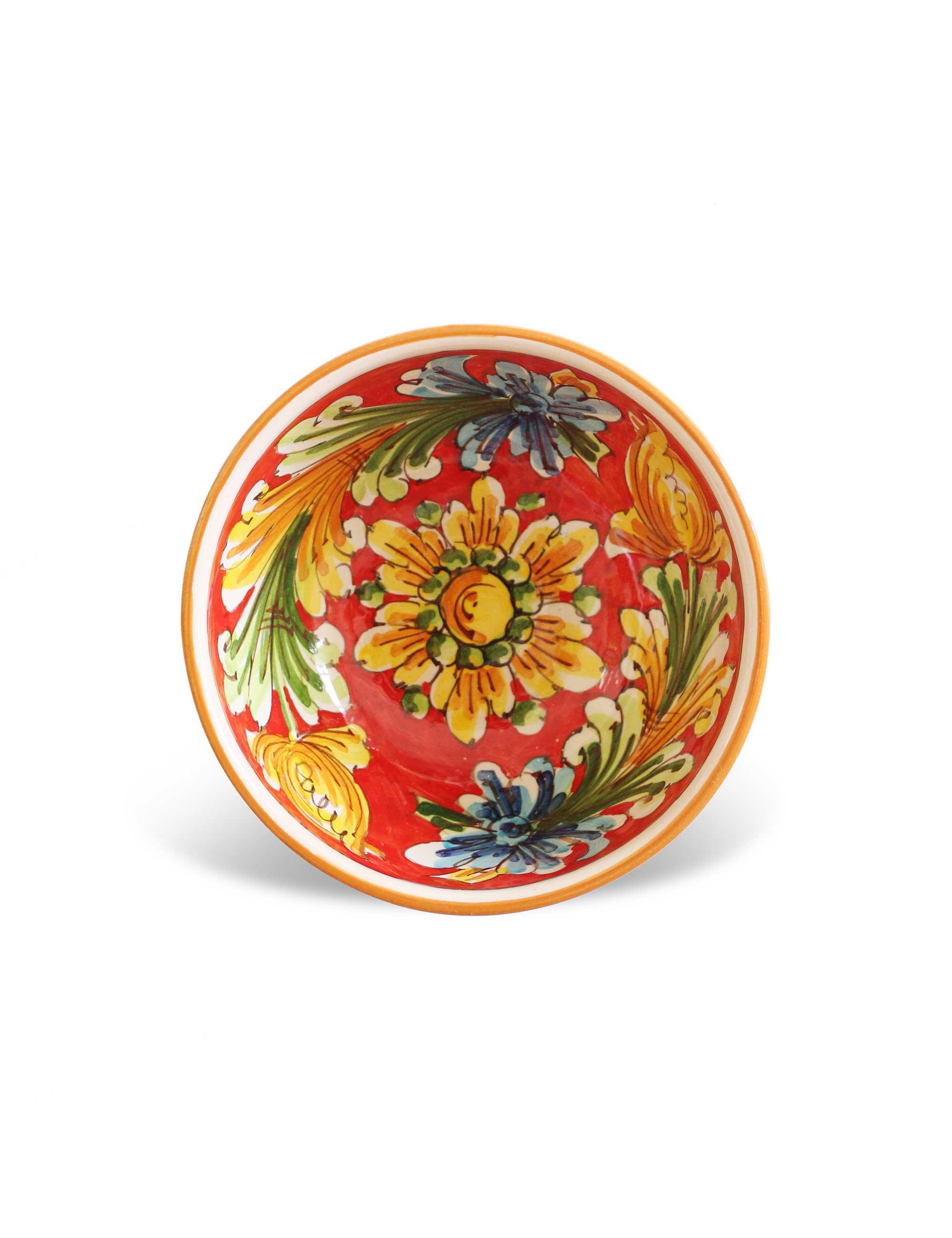 Coppa ceramica caltagirone-Lampione